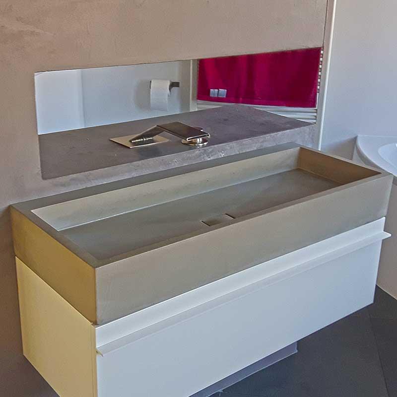 waschtisch victum 100 waschtische aus beton betonm bel. Black Bedroom Furniture Sets. Home Design Ideas