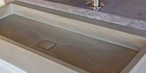 Victum100 Waschtisch aus Beton