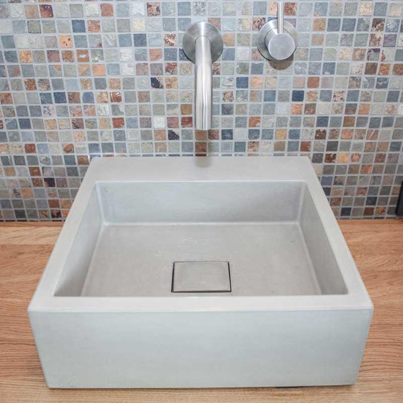 betonwaschbecken alea waschtische aus beton betonm bel. Black Bedroom Furniture Sets. Home Design Ideas