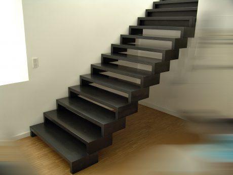 Treppe in Atelier eines Designers