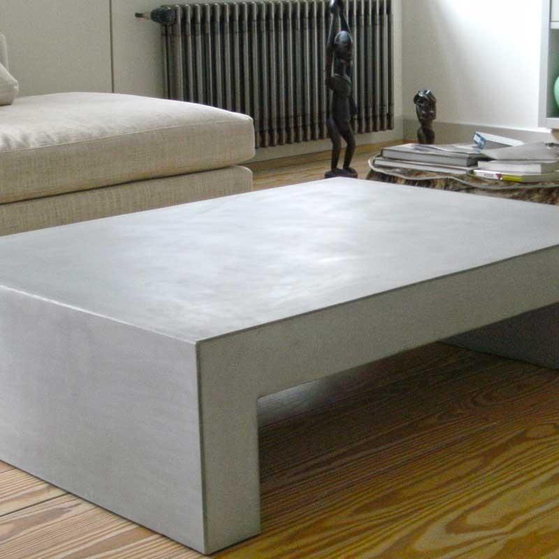 Couchtisch aus Beton U – Waschtische aus Beton, Betonmöbel