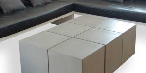 Cubes aus Beton