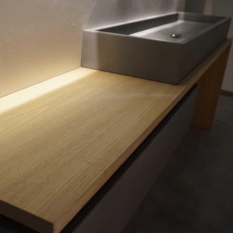 unterschrank eiche betonfront waschtische aus beton. Black Bedroom Furniture Sets. Home Design Ideas